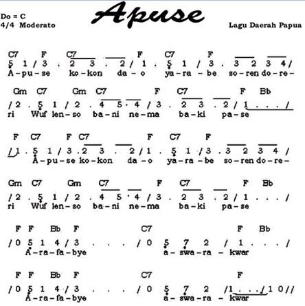 not lagu apuse