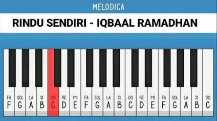 not lagu Rindu Sendiri