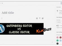 cara kembali ke editor classic dari gutenberg di blog wordpress