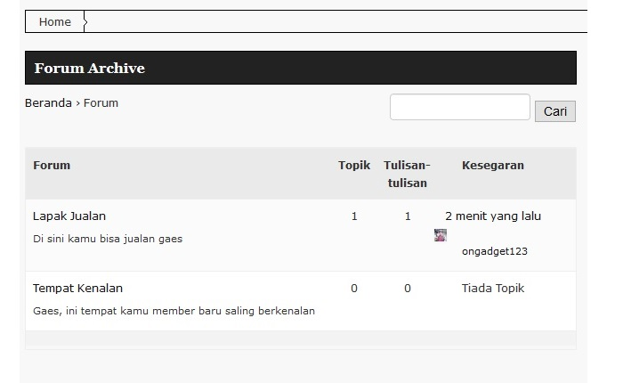 cara membuat forum blog wordpress bbpress