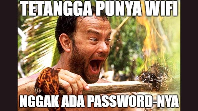 gak punya password wifi