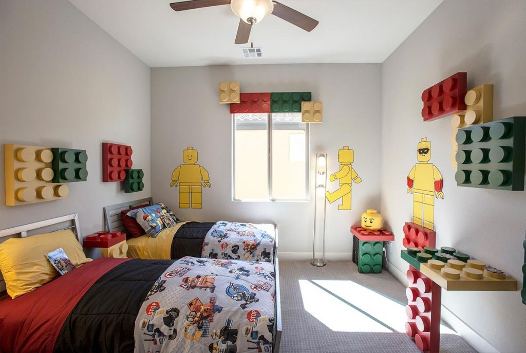kamar tidur lego