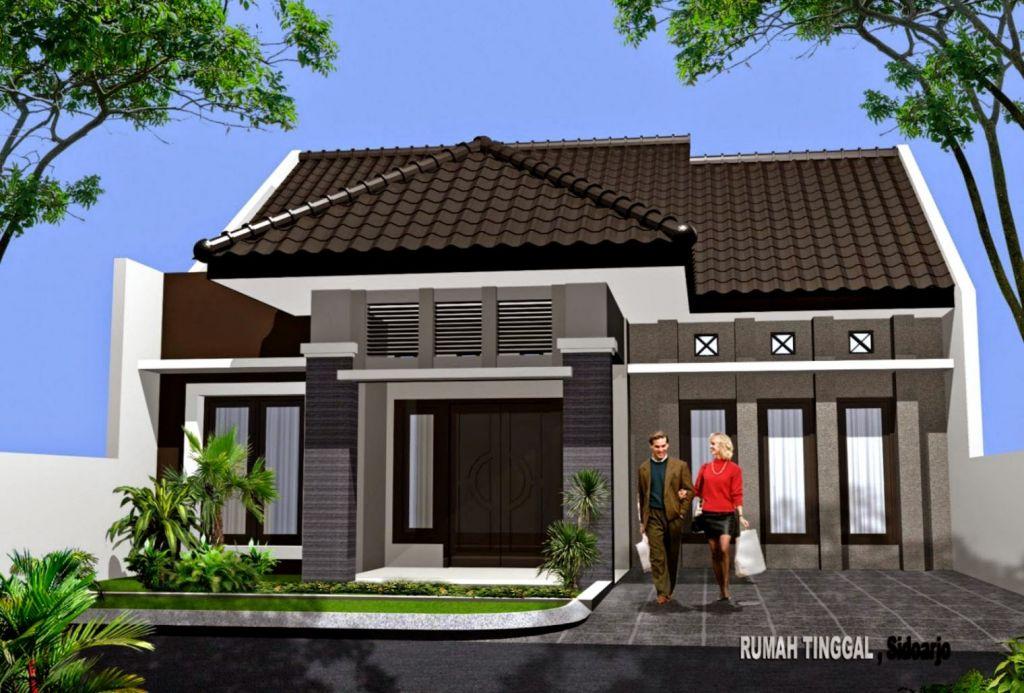 Denah Rumah Minimalis 1 Lantai Elegan Dan Modern Klikbuzz