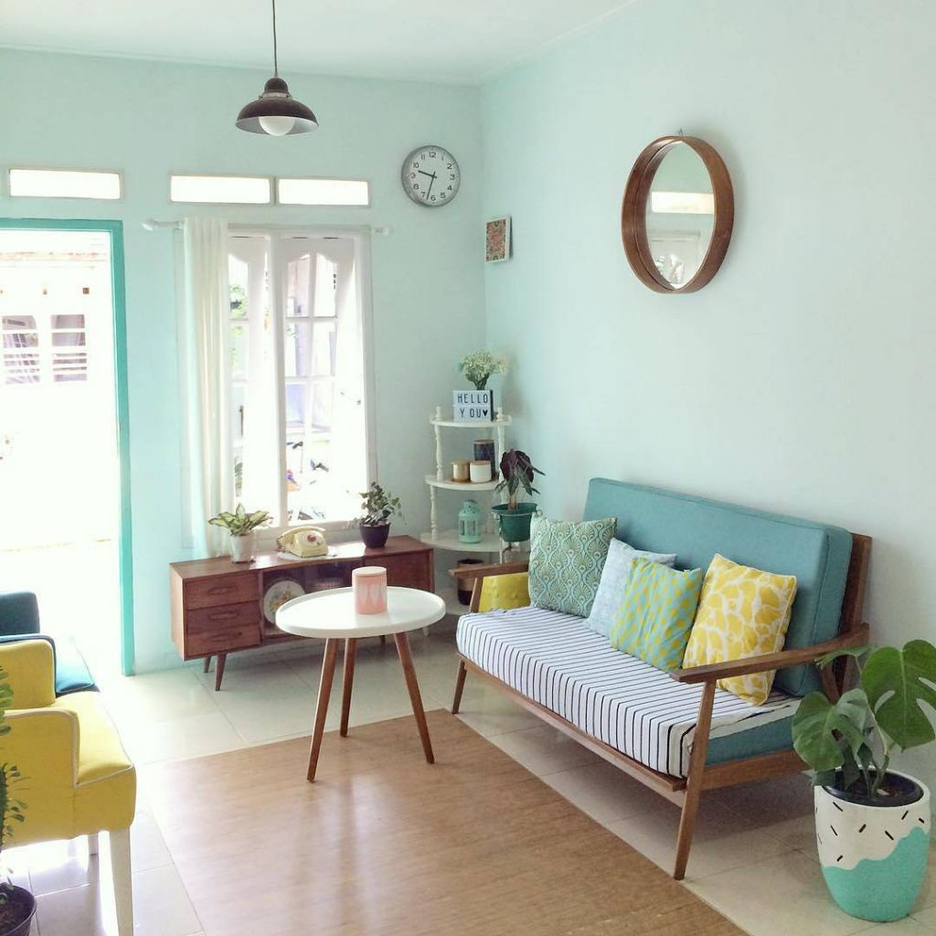 model ruang tamu rumah minimalis