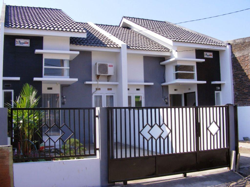 pagar rumah unik