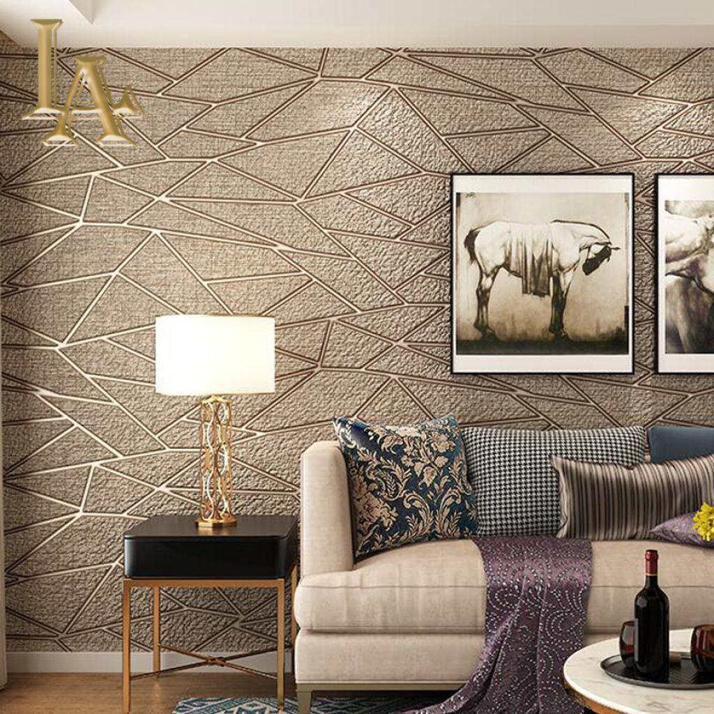 √ Motif Wallpaper Dinding Ruang Tamu KlikBuzz