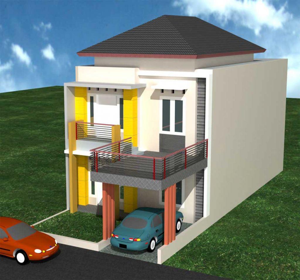rumah idaman minimalis 2 lantai
