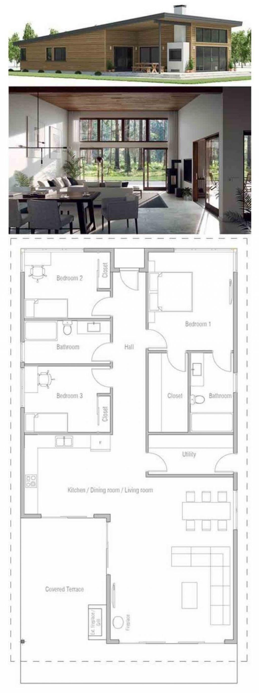 √ 60+ Desain Dan Denah Rumah Minimalis Sederhana & Modern within Gambar Desain Rumah