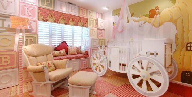 kamar tidur minimalis anak dan bayi
