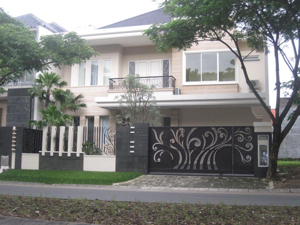pagar rumah paling unik