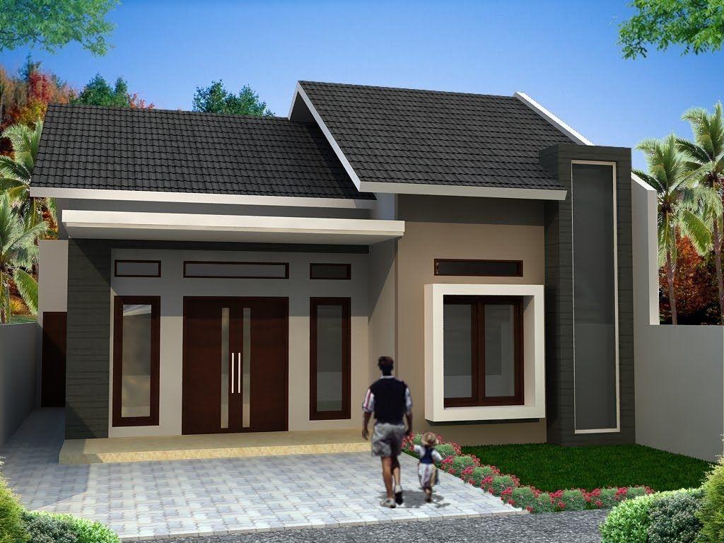 denah rumah minimalis 1 lantai elegan dan modern