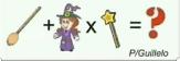 teka teki penyihir tongkat sapu