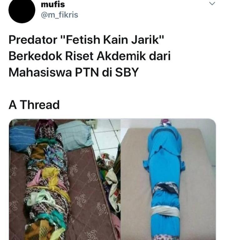 predator fetish kain jarik