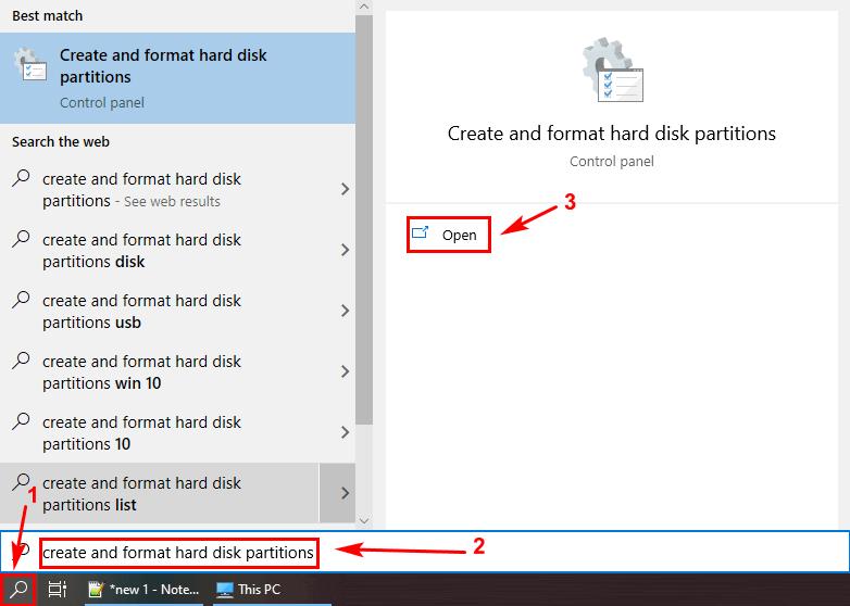 Cara Format Flashdisk dengan disk management