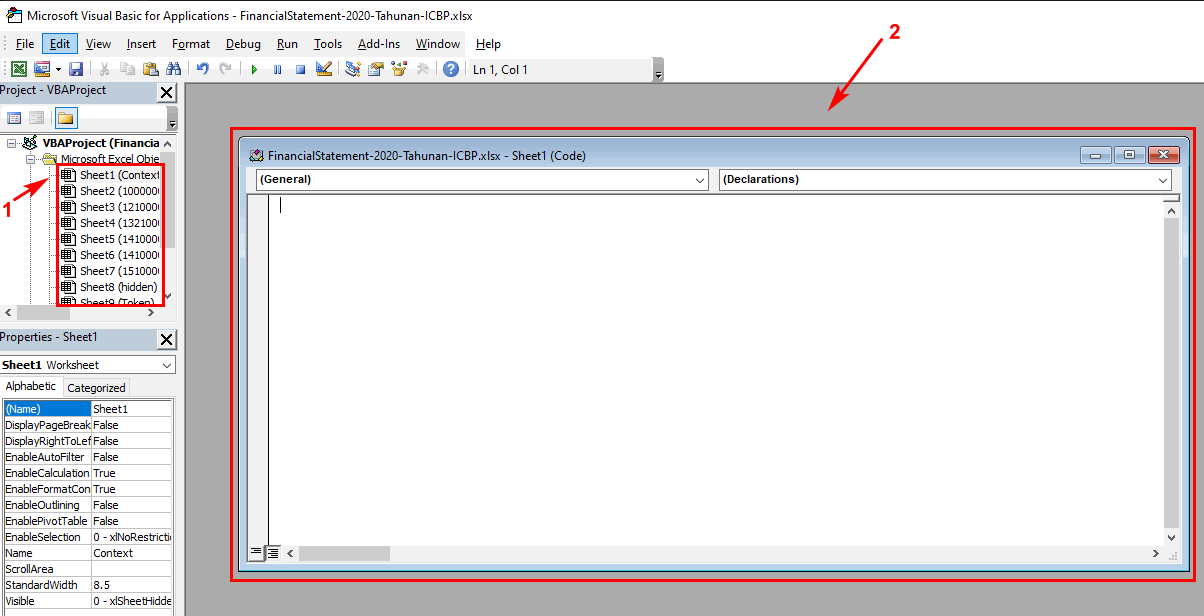 Cara Membuka Password Excel Tanpa Software