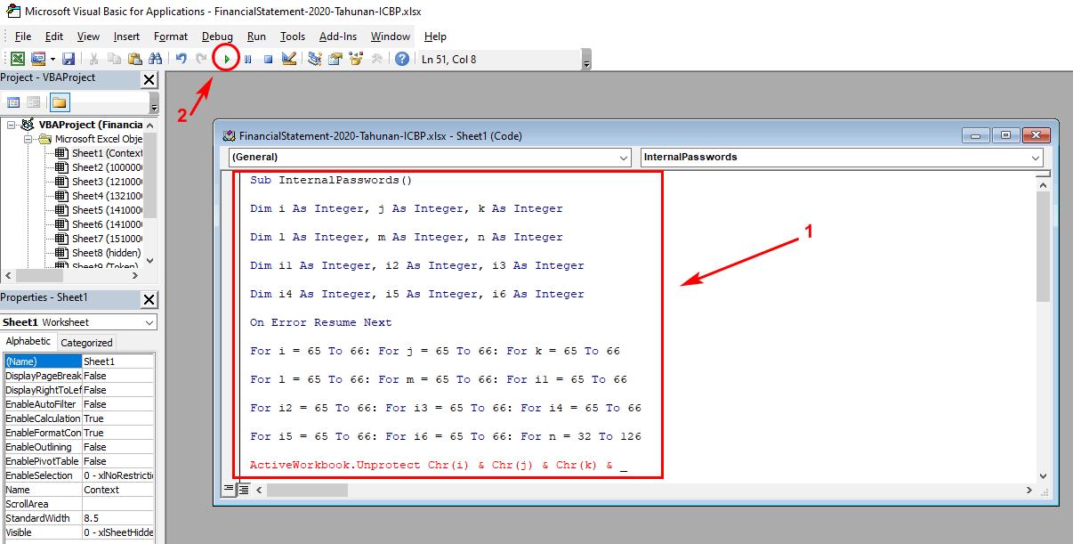 Membuka Password Excel Tanpa Software
