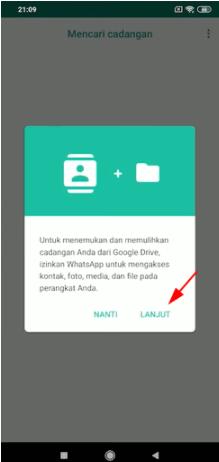 Cara Mengembalikan Chat WA yang Terhapus dari google drive