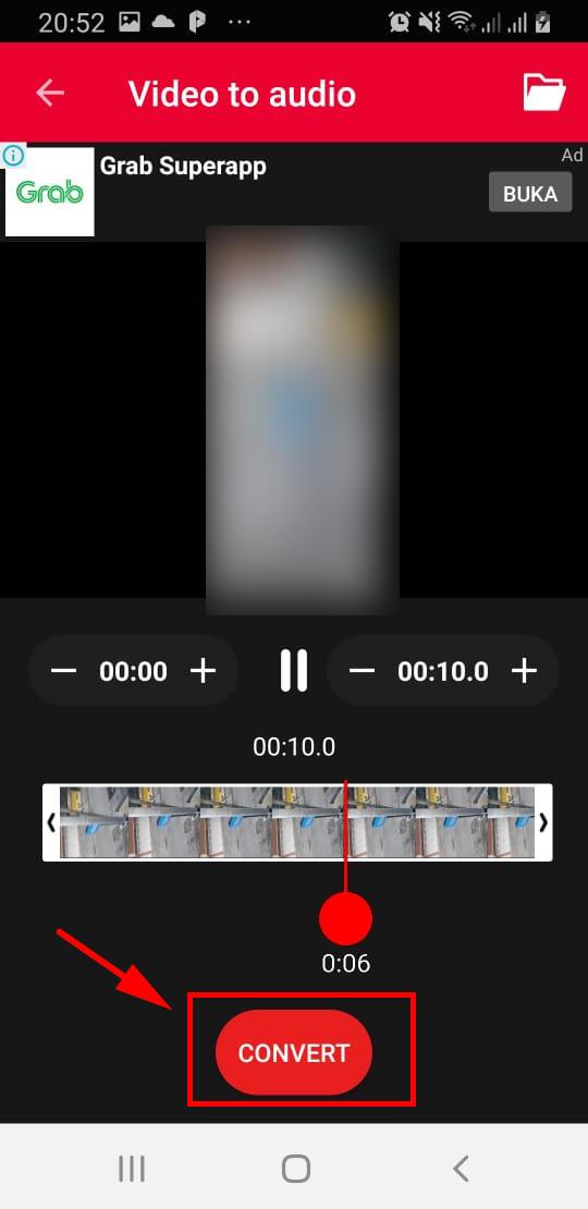 cara mengubah video menjadi audio mp3