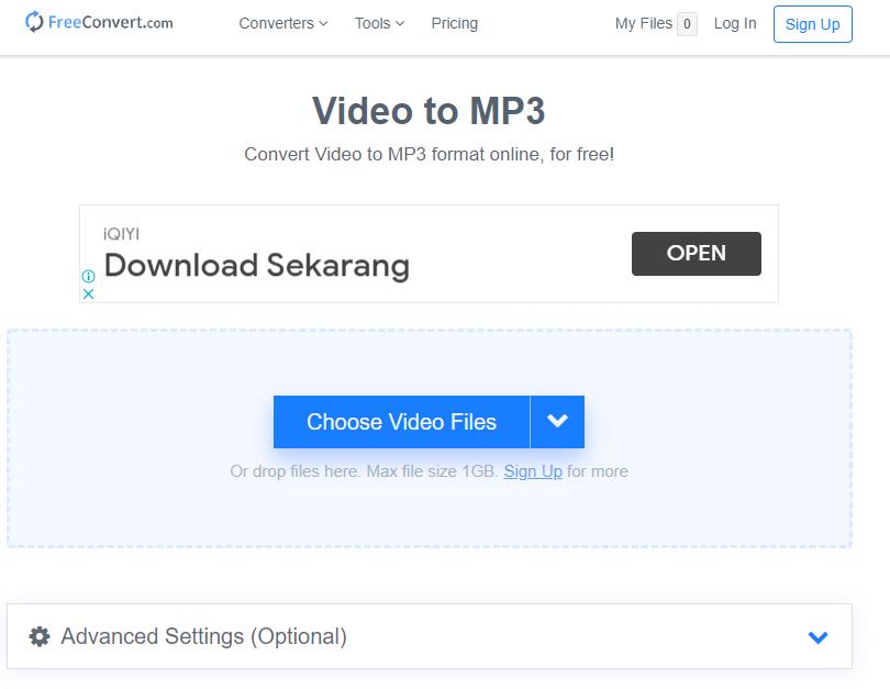 cara mengubah video menjadi mp3 tanpa aplikasi