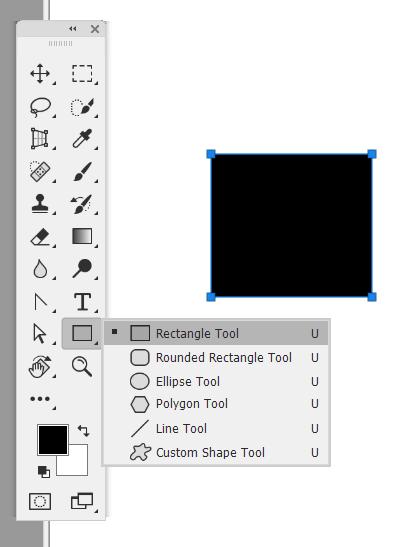 Cara Membuat kotak di Photoshop