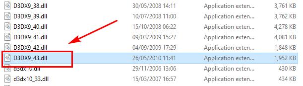 D3DX9_43.DLL Missing