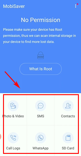 Recover Data Android SD Card