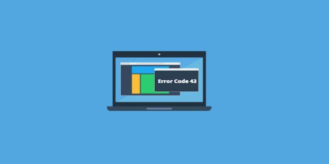 cara mengatasi error code 43 windows stopped this device