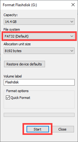 cara memperbaiki flashdisk minta format