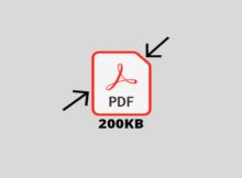 Cara Mengecilkan File PDF menjadi 200KB